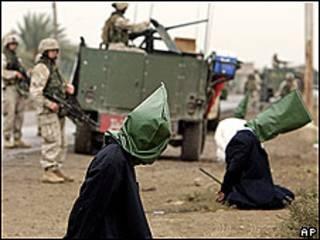 2004 йил АҚШ қўшинлари тарафидан қўлга олинганлар
