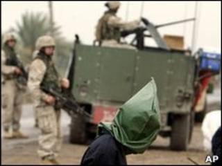 Задержанные в Ираке