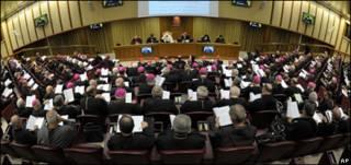 سنودس الشرق الاوسط للكاثوليك في الفاتيكان