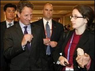 تیموتی گایتنر، وزیر خزانه داری آمریکا