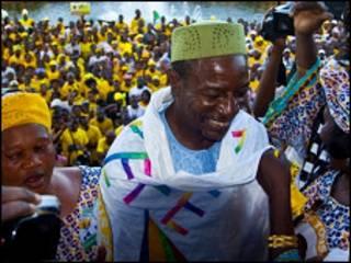Zababben shugabankasar Guinea Alpha Conde