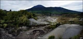 مدينة تريزينو تقع في اسفل جبل فيزوف