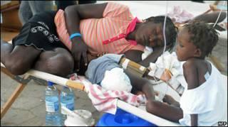 хворі на Гаїті