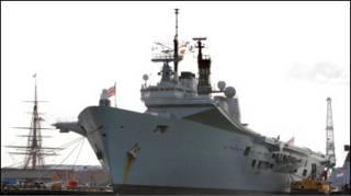Флагман британського флоту Arc Royal