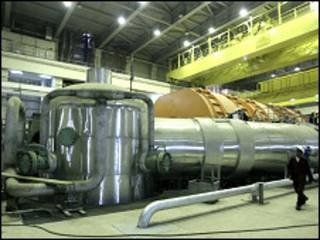 बुशहर का परमाणु संयंत्र