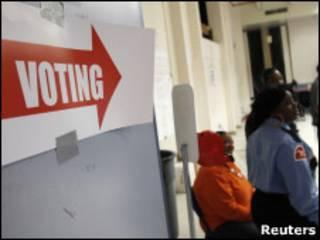Local de votação em Washington