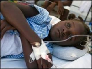 Мальчик, больной холерой