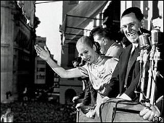 Juan y Eva Perón