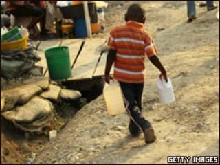 Refugiado en Haití