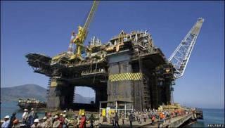 Plataforma petrolera de Petrobras