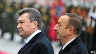 Президенти України і Азербайджану