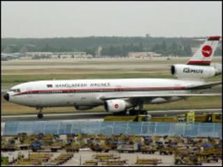 biman aircraft