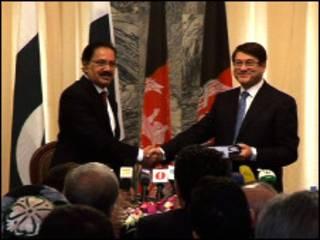 امضای توافق نامه تجاری و ترانزیتی میان پاکستان و افغانستان