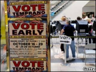 Votação antecipada em Nevada
