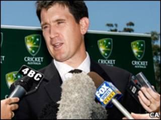 क्रिकेट ऑस्ट्रेलिया के मुख्य कार्यकारी जेम्स सदरलैंड