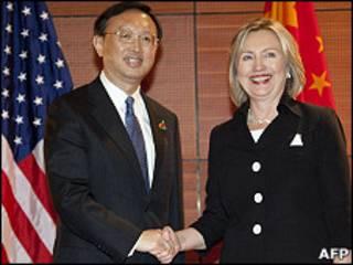 کلینتون و یانگ جیچی