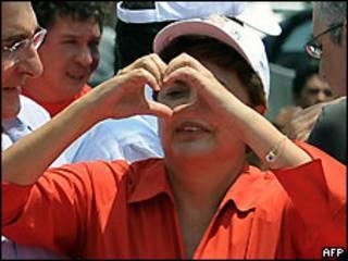 Dilma Rousseff foi a primeira mulher eleita presidente do Brasil
