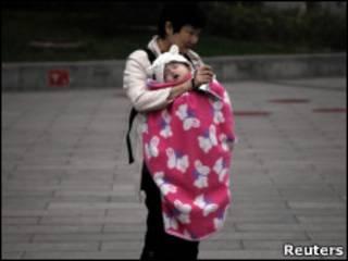 Китаянка с ребенком