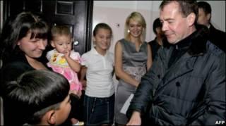 Дмитрий Медведев в Южно-Курильске