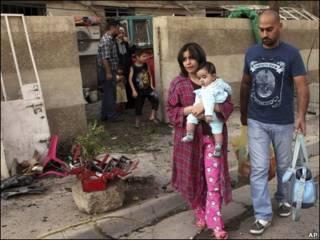 گروگان های نجات یافته در کلیسای کاتولیک بغداد