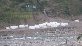 الپوری میں سیلاب متاثرین