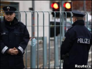 پلیس در آلمان - عکس آرشیوی