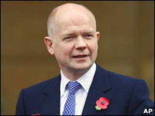 William Hague/AP
