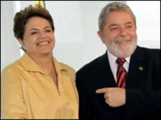 Dilma Rousseff e Luiz Inácio Lula da Silva