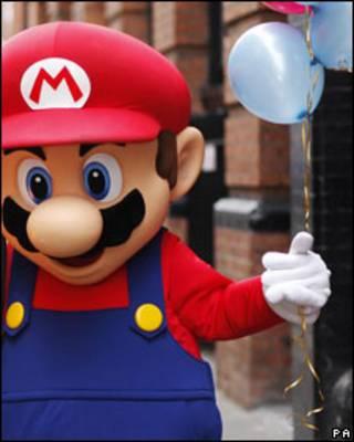 Mario, el popular personaje de Nintendo.