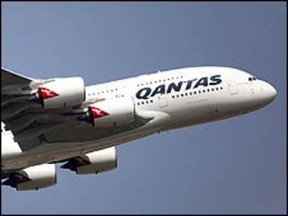 Jirgin Qantas samfurin A380-800