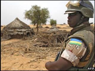 Jeshi la umoja wa mataifa Darfur