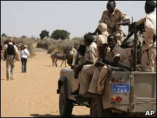 قوات حكومية في دارفور