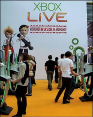 На выставке видеоигр в России