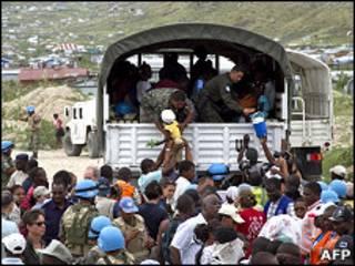 Эвакуация на Гаити