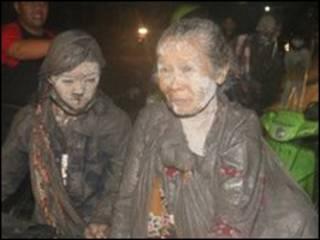 مردم دامنه کوه مراپی را تخلیه کرده اند