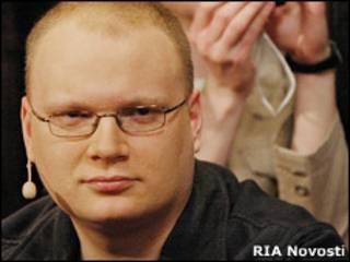 Журналист Олег Кашин, архивная фотография