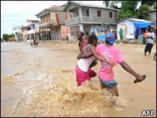 اعصار توماس في هايتي