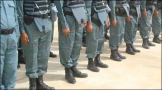 افغان پولیس