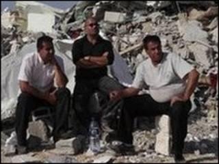 مسجد تخریب شده