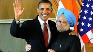 ओबामा और मनमोहन सिंह