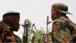 Des rebelles dans l'est du Congo
