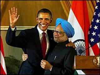 رهبران هند و آمریکا