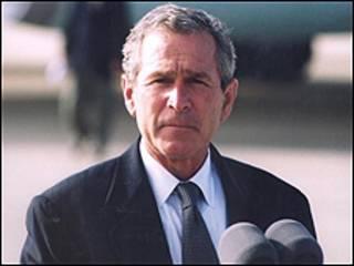 الرئيس بوش الابن