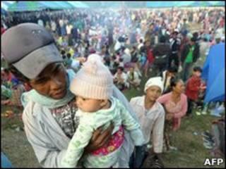 ထိုင်းနိုင်ငံကမြန်မာဒုက္ခသည်တွေ