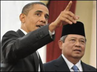 Obama e Yudhoyono
