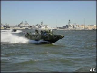 База ВМФ США в Норфолке