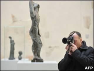 """Скульптуры коллекции """"вырождающегося искусства"""""""