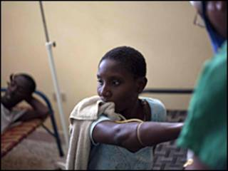 Muitos haitianos culpam soldados nepaleses da ONU de levarem o cólera ao país.