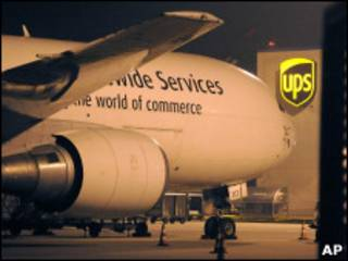 Терминал UPS в аэропорту