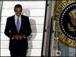 أوباما يصل سيول